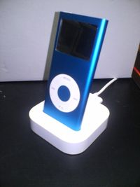 IPod_nano_2G_blue_on_Dock