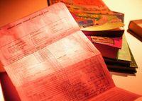 Shredding report cards