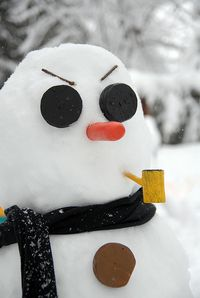 Angry Snowman is Angry - ©2010 Jenna Hatfield