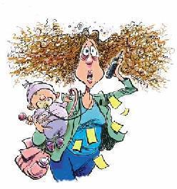 Frazzled-mom