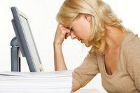 Stress at the computer
