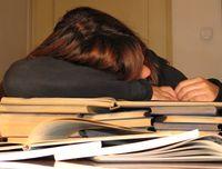 Too tired for homework