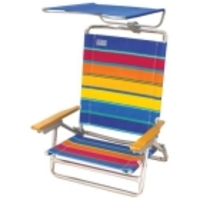Canopy Chair - Folding Outdoor Chair With Sun Shade Canopy